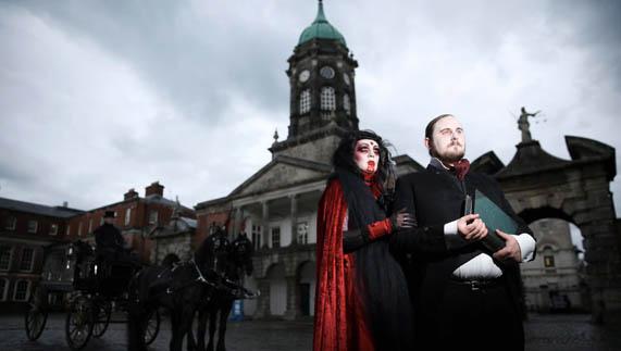 Dracula Castle Dublin Dublin Castle Once Stoker's
