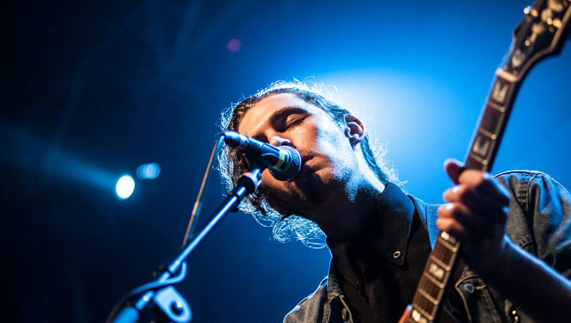 Hozier performing at Hard Working Class Heroes