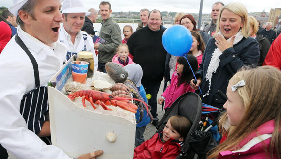 Something fishy at the Flavours of the Foyle Seafood Festival