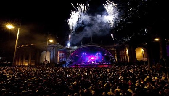 Dublin's NYE concerts