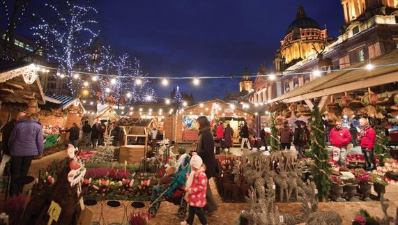 Belfast's Christmas market