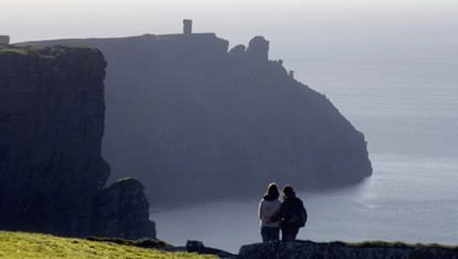 At the Cliffs of Moher, County Clare