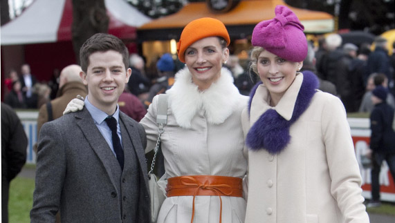 Ladies Day at the Leopardstown Christmas Festival
