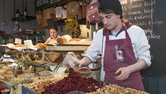 Getting gourmet in Limerick's Milk Market