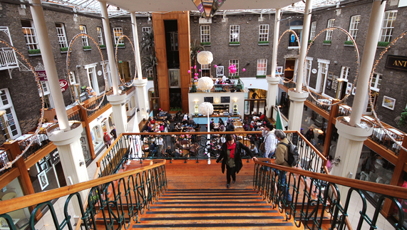 Browse at the Powerscourt Townhouse shopping centre