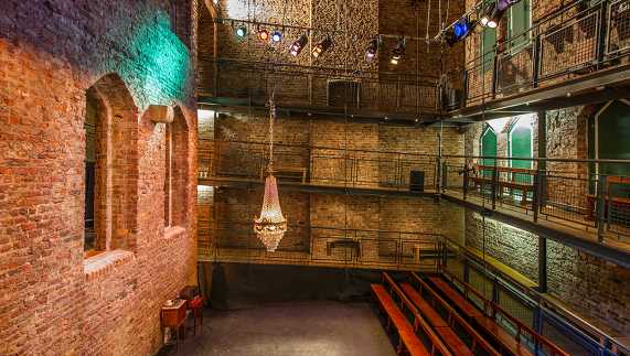 Smock Alley Theatre in Temple Bar