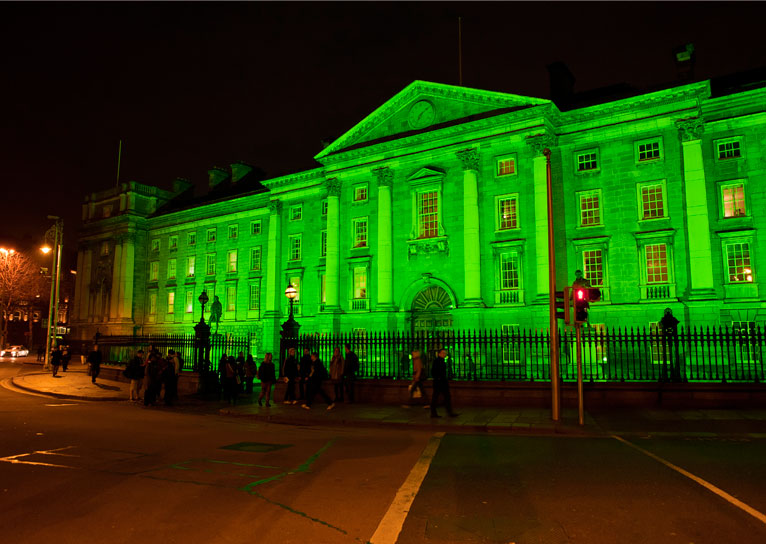 #GoGreen4PatricksDay