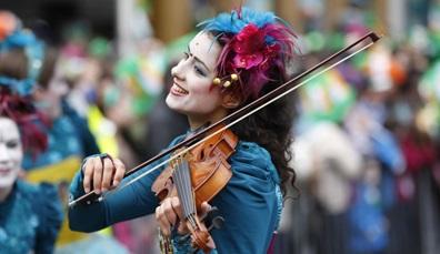 Celebrating St Patrick