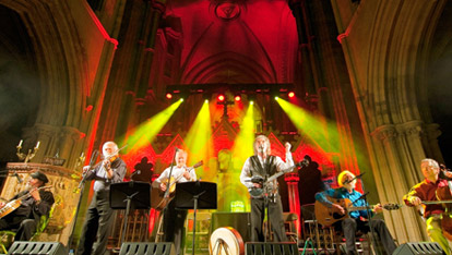 The Dubliners at Christ Church Catherdral for Tradfest