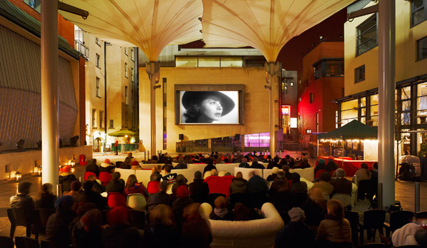 Open Air Cinema in Meeting House Square