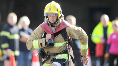 The Ultimate Firefighter Taster event 2012