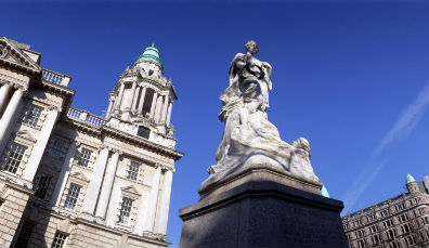 Die Stadt Belfast