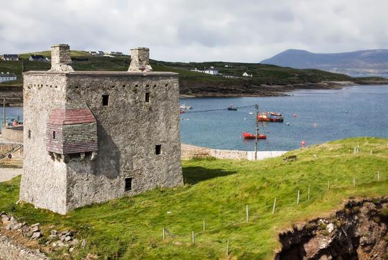 Granuaile Castle, Clare island