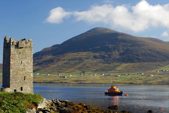 The Tower at Kildavet, Achill Island