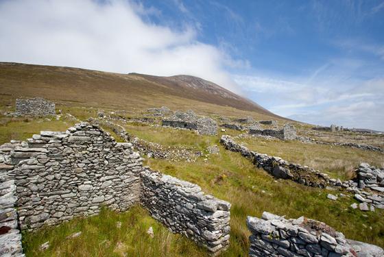 The Deserted Village, Achill Island