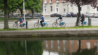 The Grand Canal, Dublin