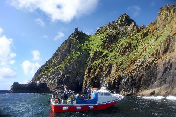 Mit dem Boot zu den Skellig Islands