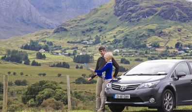 Vehicle rental in Ireland