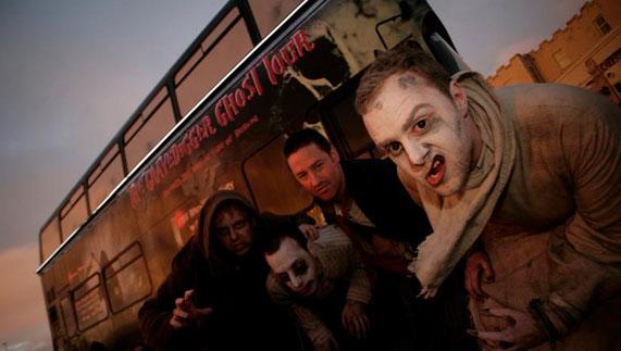The Gravedigger Ghost Bus