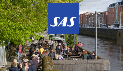 Fly with SAS to Shannon