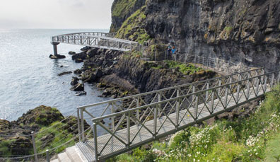 The Gobbins cliff path