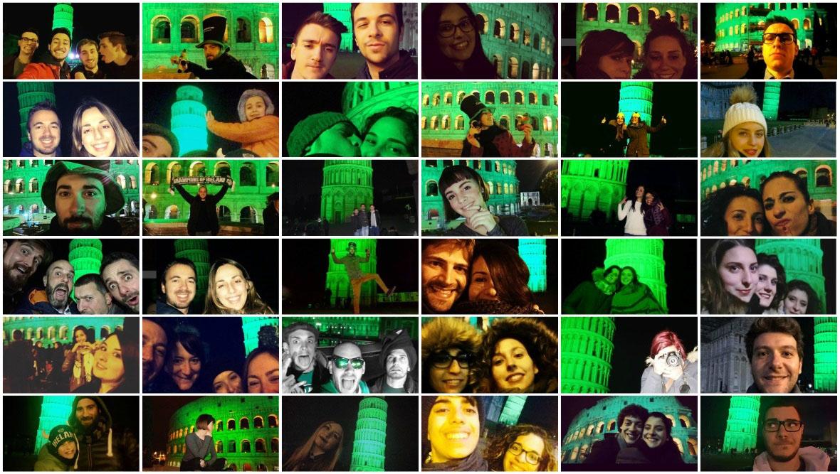 Alcuni partecipanti a #italialovegreen nel 2016