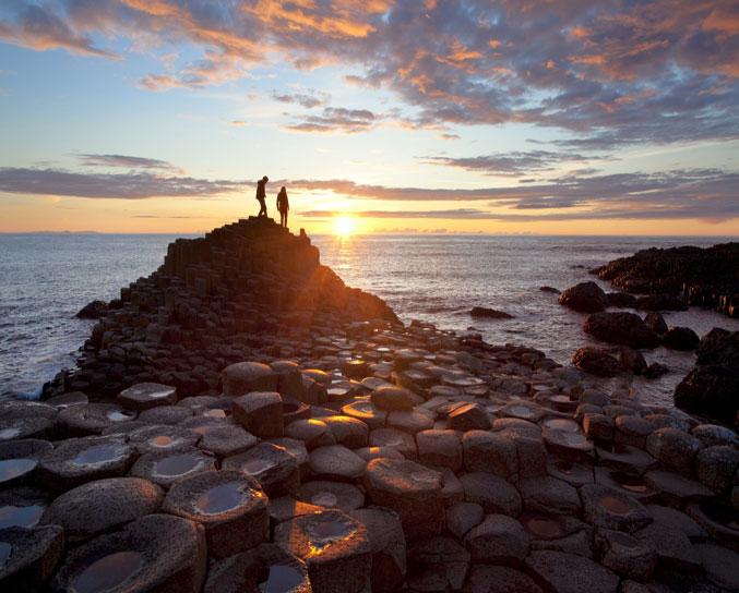 Reis Door Reusachtig Noord-Ierland