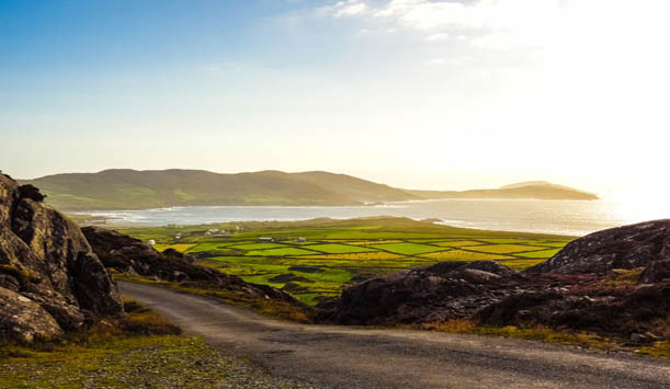 'Zonder al die regen zou Ierland nooit zo mooi groen zijn'