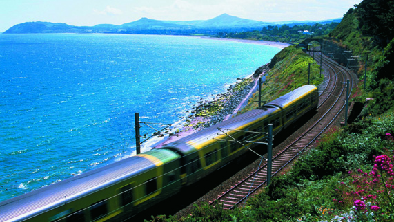 Hop on the DART to Killiney