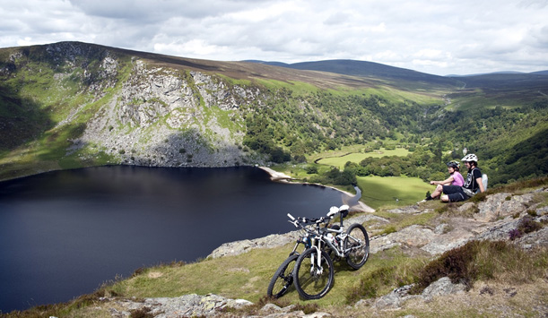 Lough Tay, Wicklow National Park