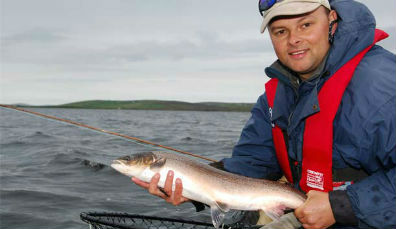 Salmon fishing in Ireland