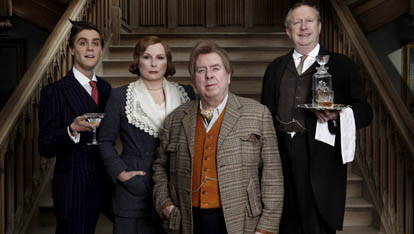 The Blandings cast