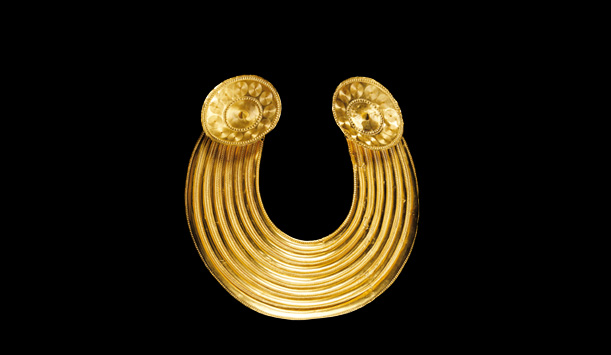 Gleninsheen Gold Gorget c.800-700 BC