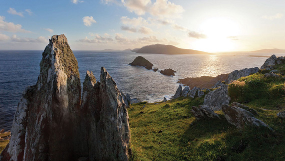 The Dingle Peninsula, or 'The Mainland' to former Great Blasket dwellers