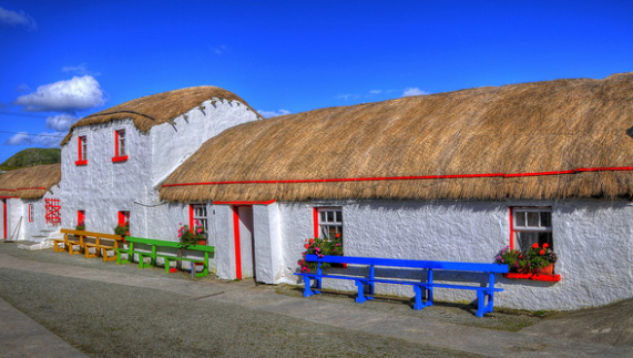 "Doagh Famine Village, County Donegal fourni par <a href=""http://www.visitinishowen.com/"" >Visit Inishowen</a>"