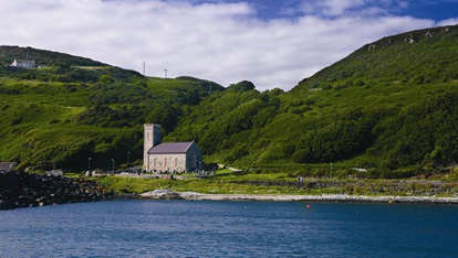 St Thomas' Parish Church on Rathlin Island