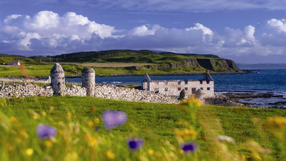 Ruins on Rathlin Island
