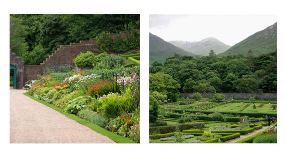 "Kylemore's Victorian Walled Gardens provided by <a href=""http://www.richardjohnstonphotographer.ie/"" >Richard Johnston</a>"