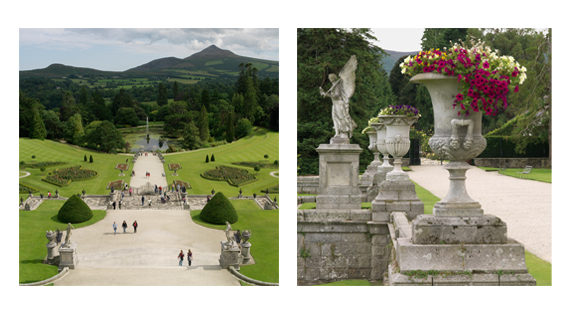 "Powerscourt Gardens, County Wicklow provided by <a href=""http://www.richardjohnstonphotographer.ie/"" >Richard Johnston</a>"