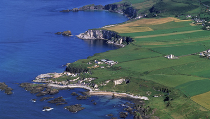 Causeway coast, County Antrim