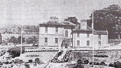 Warrenstown House, County Meath, where Patrick Russell Cruise married Teresa Johnson