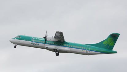 Aer Lingus taking off