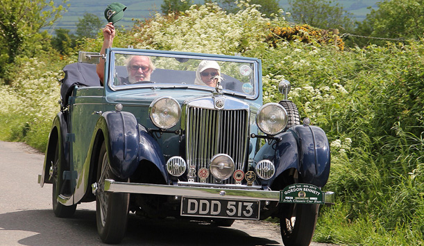 "Vintage style in Ireland provided by <a href=""http://gordonbennettclassic.ie/"" >Gordon Bennett Classic</a>"