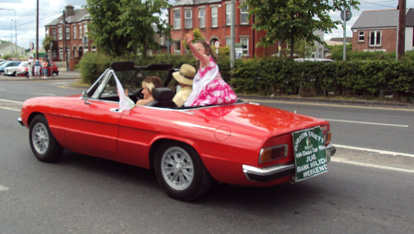 "Alfa Romeo Spider  provided by <a href=""http://gordonbennettclassic.ie/"" >Gordon Bennett Classic</a>"