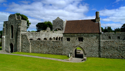 Boyle Abbey in Roscommon has been seen in the show