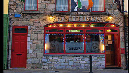 Mattimoes Pub in Boyle where Chris used to work