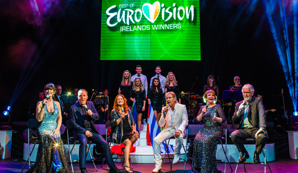 The previous Irish winners of Eurovision