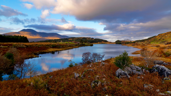 The lakes of Killarney, County Kerry