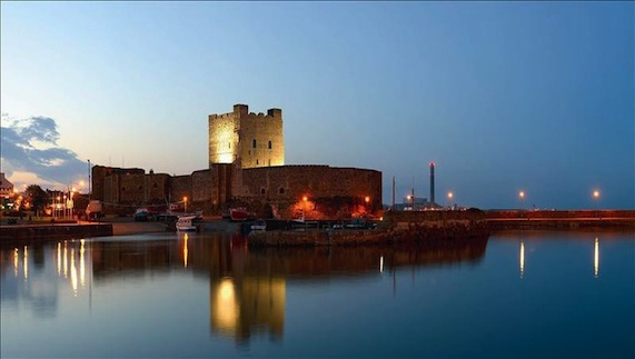 Carrickfergus Castle in County Antrim