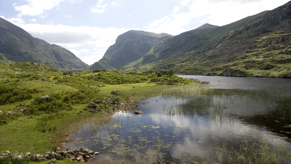 Beautiful landscapes in County Kerry